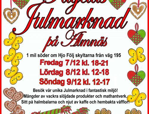 (Svenska) Julmarknad 2018!